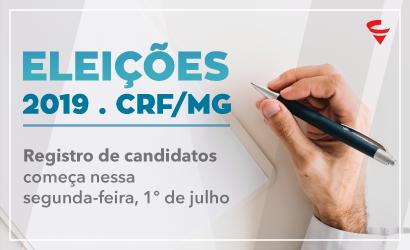 ELEIÇÕES 2019: registro de candidatos começa nessa segunda-feira, 1º de julho